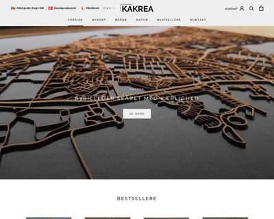 kakrea.dk website