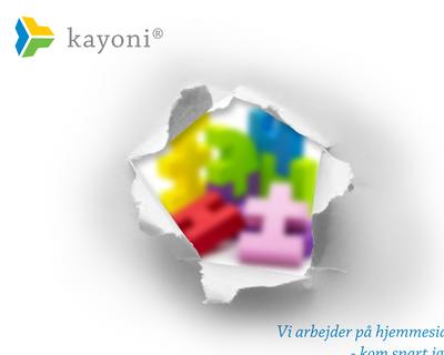 kayoni.com website
