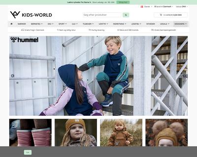 kids-world.dk website