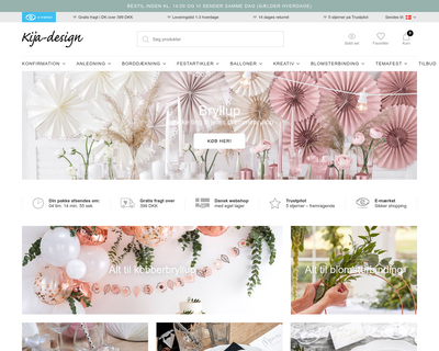 kija-design.dk website