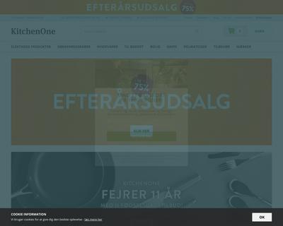 kitchenone.dk website