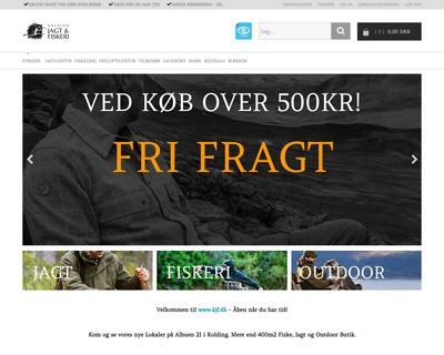 kjf.dk website