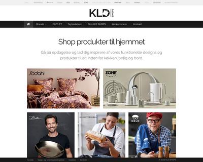 kldshops.dk website