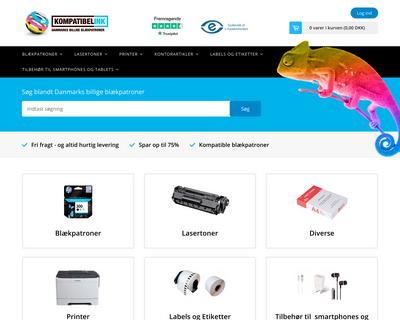 kompat.dk website
