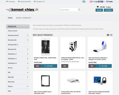 konsol-chips.dk website