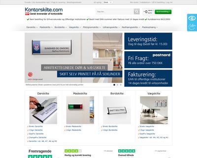 www.kontorskilte.com website