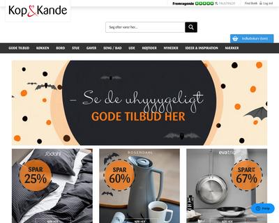 kop-kande.dk website
