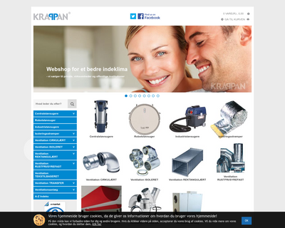 krappan.dk website