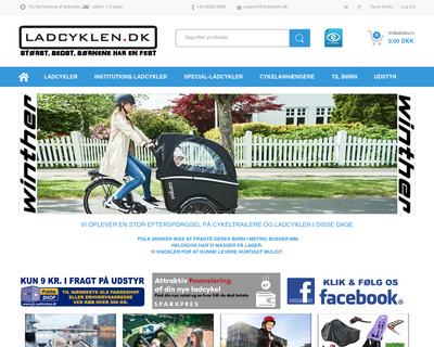 ladcyklen.dk website