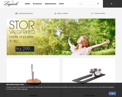 laguiole.dk website