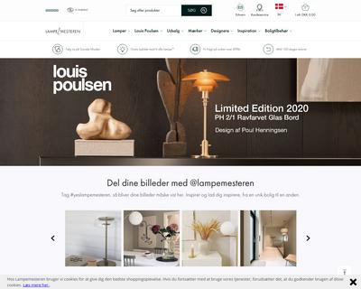 www.lampemesteren.dk website
