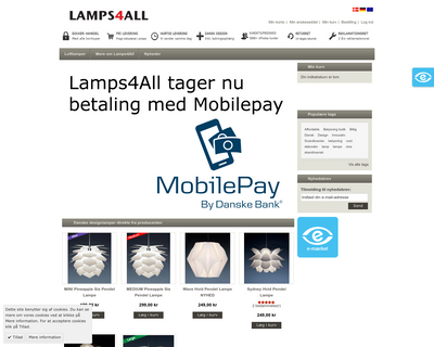 lamps4all.com website