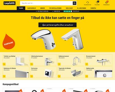 lavprisvvs.dk website
