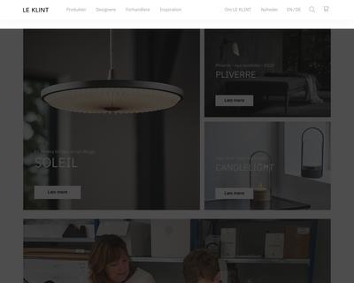 leklint.dk website