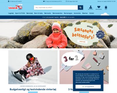 lekmer.dk website