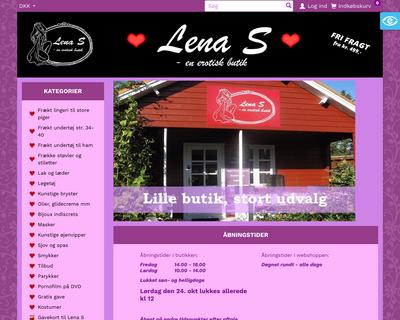 lena-s.dk website