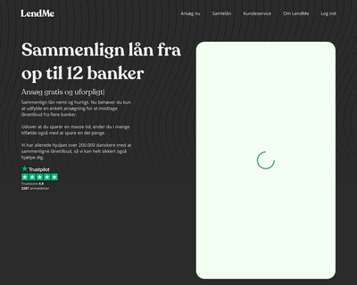 lendme.dk website