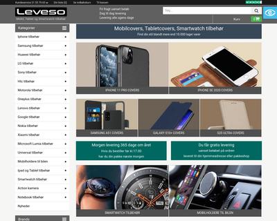 leveso.dk website
