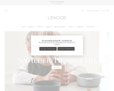 liewood.dk website