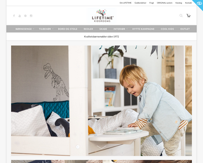 lifetimekidsrooms.dk website