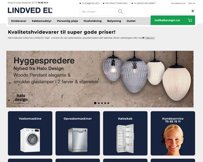 lindvedel.dk website