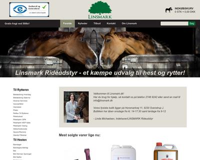 linsmark.dk website