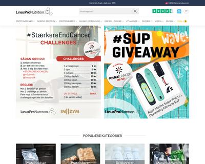 linuspro.dk website
