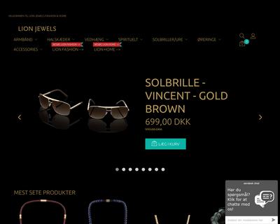 lionjewels.dk website