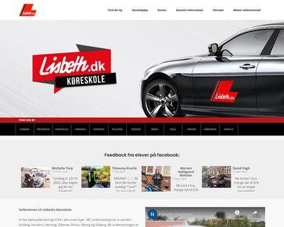 lisbeth.dk website