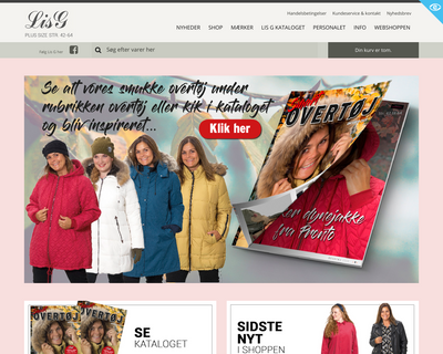 lisg.dk website