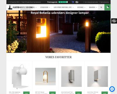 lite-house.dk website