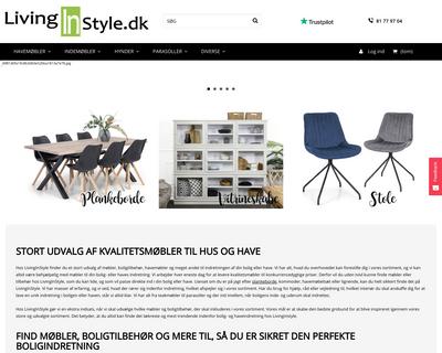 livinginstyle.dk website