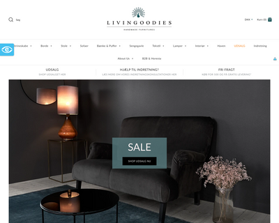 livingoodies.dk website