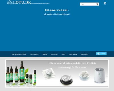 lotu.dk website