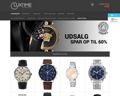 luxtime.dk website