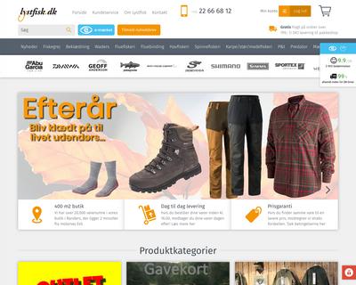 lystfisk.dk website