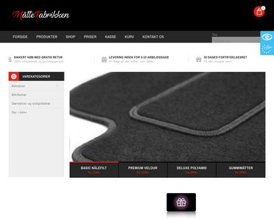 maattefabrikken.dk website