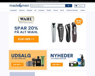 made4men.dk website
