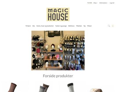 magic-house.dk website