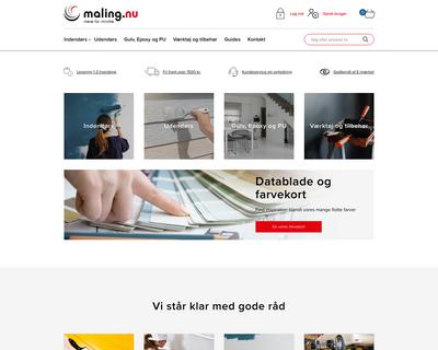 maling.nu website