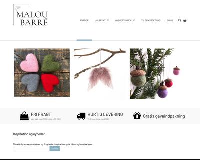 maloubarre.dk website