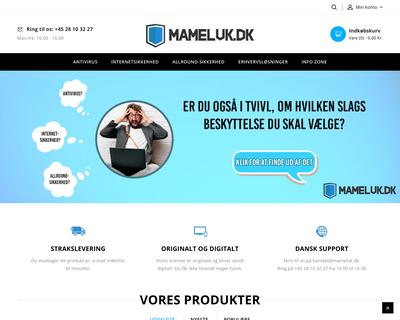mameluk.dk website