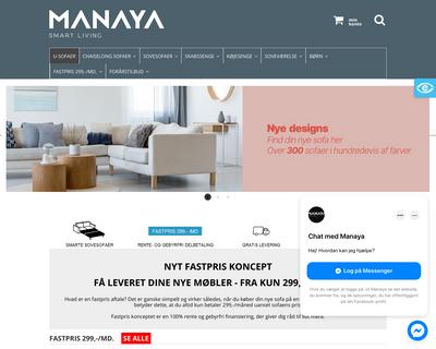 manaya.dk website