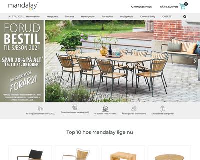 mandalay.dk website