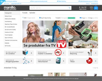 manillo.dk website