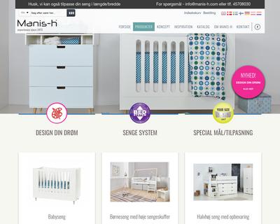 manis-h.dk website
