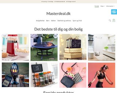 masterdeal.dk website