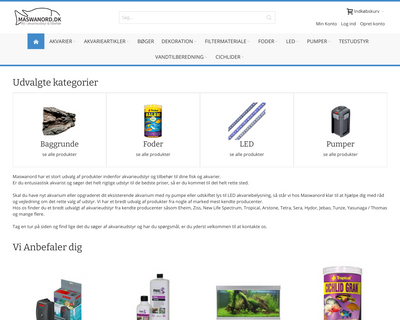 maswanord.dk website