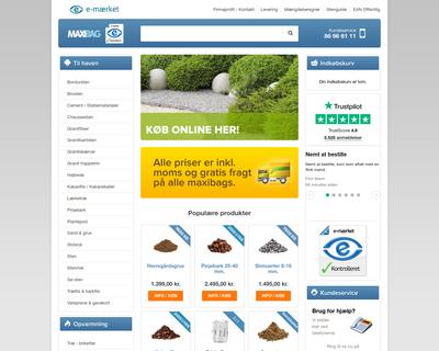 maxibag.dk website