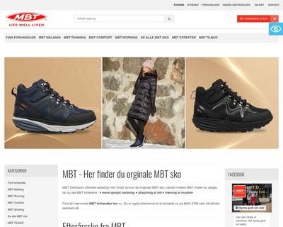 mbtshop.dk website